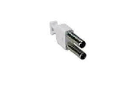 ADC-Commscope Coaxial Midsize Looping Plug Nickel with Strain Relief Boot