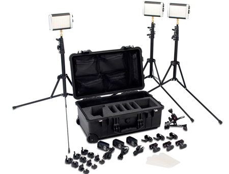 Litepanels Croma Flight Kit Versatile LED Lighting Kit
