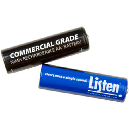 Listen LA-362 Rechargeable AA NiMH Batteries (2)
