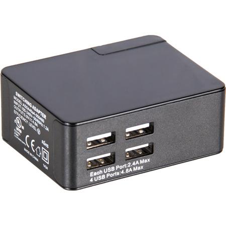 Listen LA-423-01 4-Port USB Charger