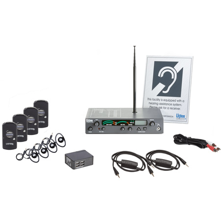 Listen LS-56-072 iDSP Advanced Level I Stationary RF System(72 MHz)