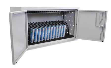 Luxor LLTMW16-G 16 Tablet Wall/Desk Charging Box