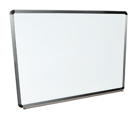 Luxor WB4836W 48x36 Wall Mounted Whiteboard