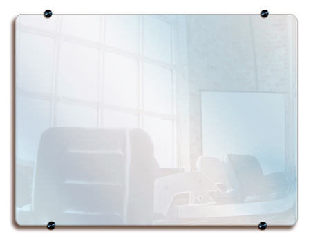 Luxor WGB4836 48x36 Wall Mounted Glass Board