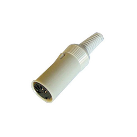 LXS51F 5 Pin Female DIN Connector Cable End
