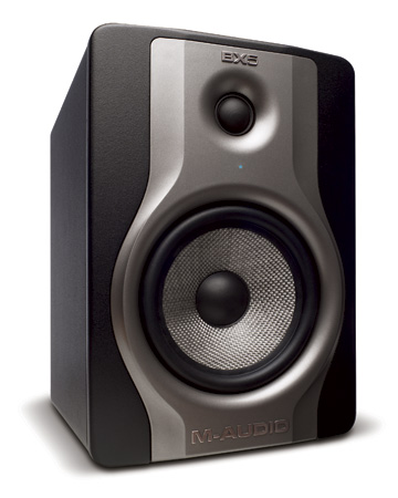 M-Audio BX5 Carbon Compact Studio Monitor for Music Production (Single)