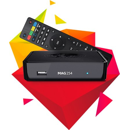 Infomir MAG254 IPTV-OTT Set-Top Box