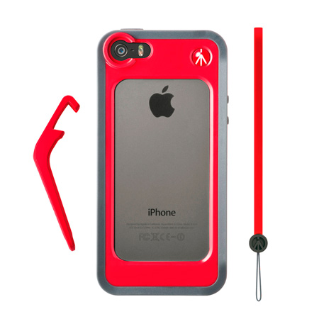 Manfrotto MCKLYP5S-R Bumper for iPhone 5/5s - Red
