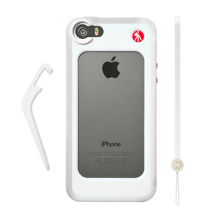 Manfrotto MCKLY5S-W Bumper for iPhone 5/5s - White