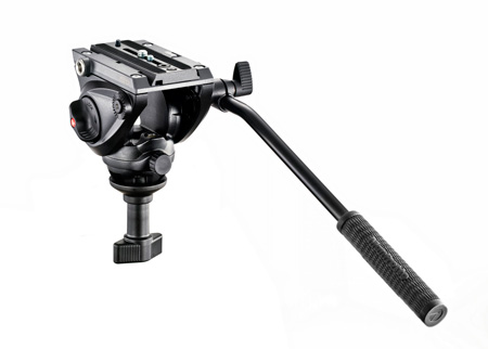 Manfrotto MVH500A Lightweight Fluid Video Head - 60mm Half Ball