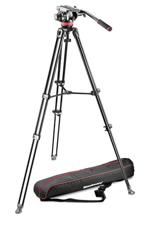 Manfrotto MVK502AM-1 Tripod MVH502A & MVH502AM & Bag