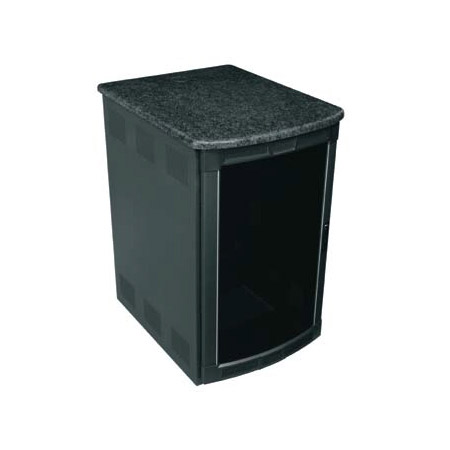 Middle Atlantic BGR-25SA32MDK-DS 25RU Presentation Enclosure System - Darkstone