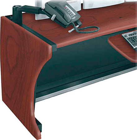 Middle Atlantic LD-SP30-DC Side Panels for LCD Monitoring Desk - Dark Cherry