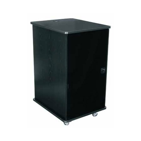 Middle Atlantic MFR-1627GE Mobile Furniture Rack - Grained Ebony