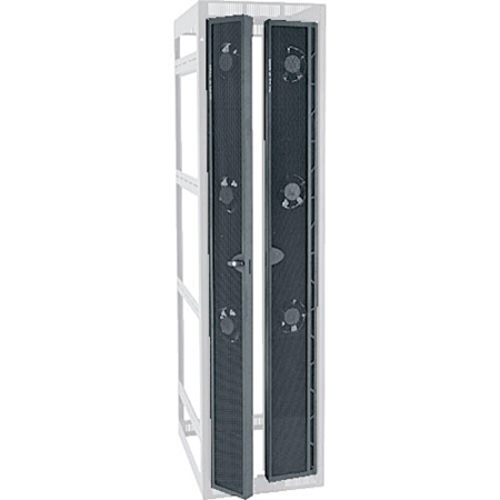 Middle Atlantic MW-CFRD-42 High CFM Split Rear Door - 42 Space