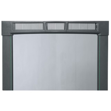 Middle Atlantic PFD-25A Curved Plexi Front Door - 25 Space