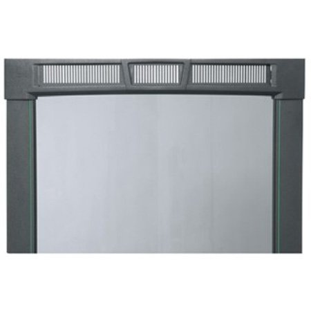 Middle Atlantic PFD-45A Curved Plexi Front Door - 45 Space