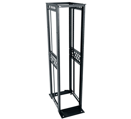 Middle Atlantic R412-4530B R4 Series 45U Four-Post Open-Frame Rack - 30 Inch Useable Depth
