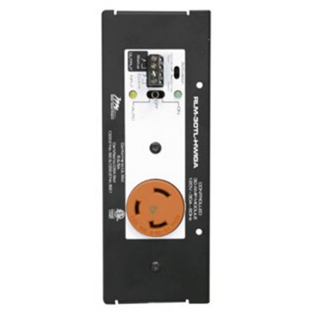 Middle Atlantic RLM-30TL-HWIGA 30A Isolated Ground Controlled Raceway Module