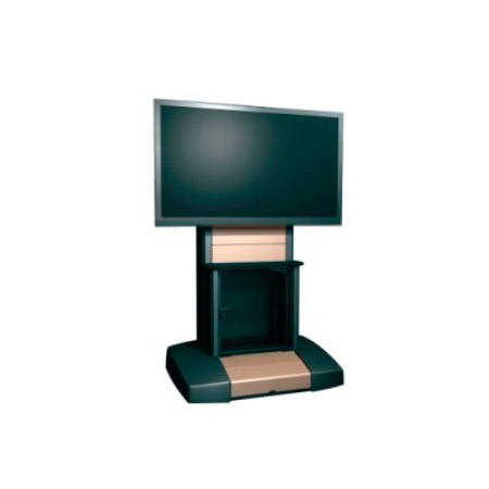 Middle Atlantic VTC-4280S Mobile Videoconferencing Cart - Single 42-80 Inch