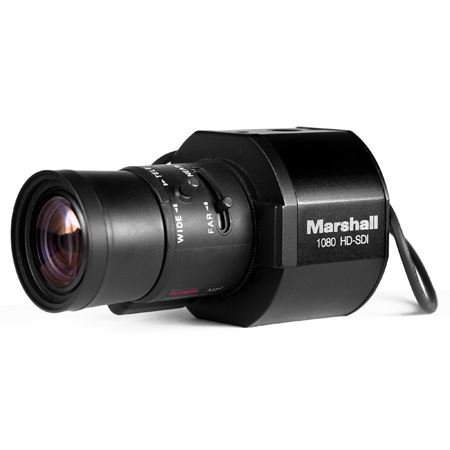 Marshall CV345-CS Full-HD (3G/HD-SDI) 2.5MP Compact Progressive Camera with Audio and HDMI (CS/C Mount) Body Only