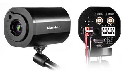Marshall CV350-5X 2.3MP Broadcast 5X Optical Zoom AF Compact Camera