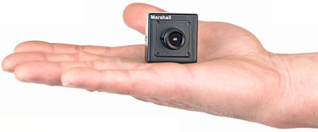 Marshall CV500-MB 2.2 Megapixel HD-SDI 1080p/1080i HD Miniature Camera