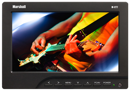 Marshall M-CT7-CE6 - 7in TFT LCD HDMI LED Monitor w Canon LP-E6 Battery Assembly