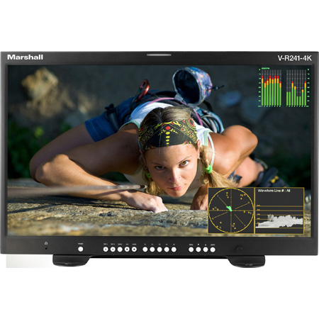 Marshall V-R241-4K 24 Inch 4K Master Confidence Monitor