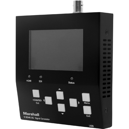 Marshall V-SG4K-3G 4K UHD and 3G HD-SDI Broadcast Test Signal Generator