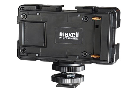 Maxell 261401 Pro 3Way Power Shoe Adapter - BPU Battery Type Mount