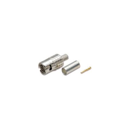Canare MBCP-C5F 3 Piece Slim 75 Ohm BNC Connector for Belden 1189A