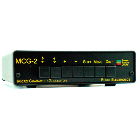 Burst MCG-2Y/C Micro Character Generator for SVHS