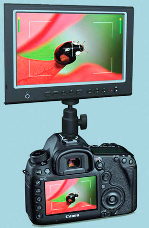 MFM-777D 7 Inch LCD Field Monitor with HDMI Input/Output