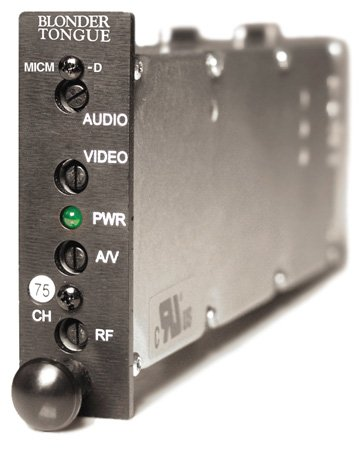 Blonder Tongue MICM-45D HE-12 & HE-4 Series Audio/Video Modulator - Channel 43