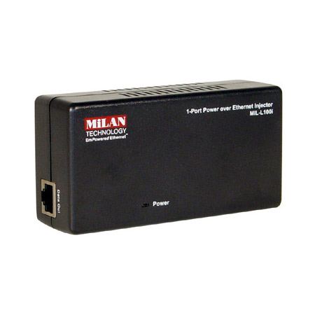 MIL-L100I-NA Poe 1-Port Injector Power Over Ethernet Injector