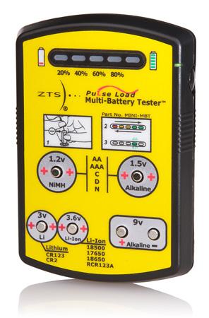 ZTS MINI-MBT Mini Multi-Battery Tester