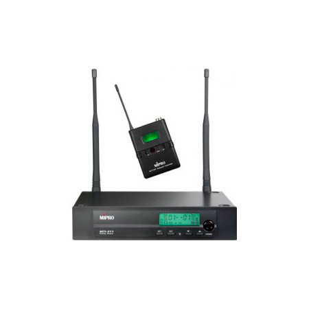 Mipro ACT-311/ACT-30T Single Channel Bodypack Wireless System