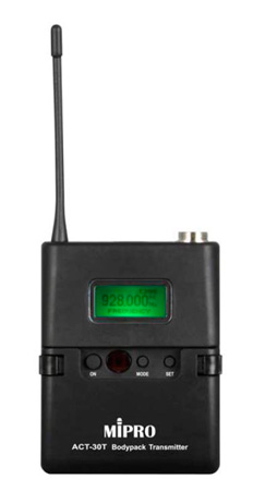 Mipro ACT30T5NC Miniature Body Pack Transmitter (LCD) 5NC Band Frequency