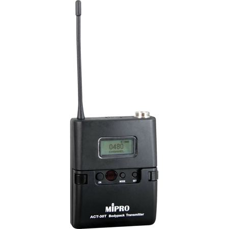 Mipro ACT30T6A Miniature Body Pack Transmitter (LCD) 6A Band Frequency