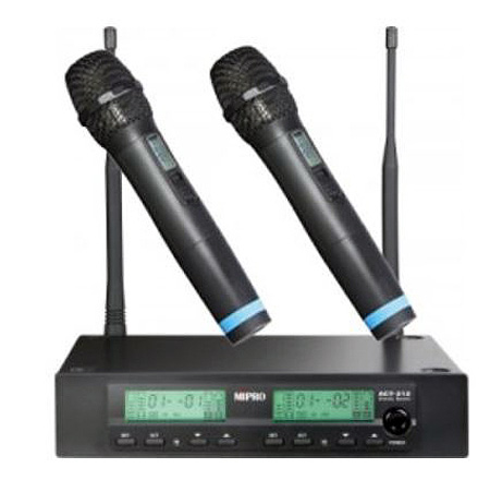 mipro act 312 act 30h2 dual channel handheld wireless system. Black Bedroom Furniture Sets. Home Design Ideas