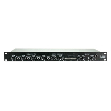 Whirlwind Pro Stereo Rack Mixer