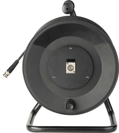 Jackreel Deluxe MKR-1-1694A-250 Single Channel Belden 1694A BNC Cable Reel - 250 Foot