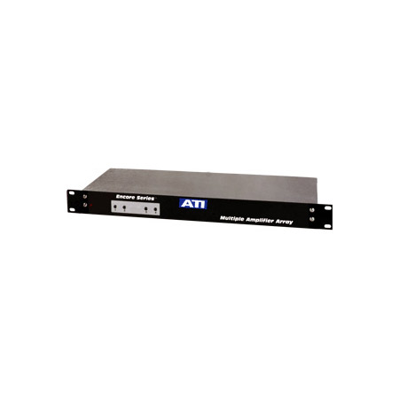 ATI MLA400-2 4 CH Microphone to Line Amp w/Active Balanced Output