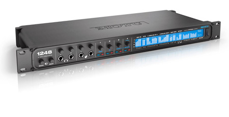 MOTU 1248 Thunderbolt / AVB Ethernet / USB Audio Interface with DSP