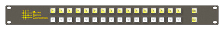 Matrix Switch MSC-CP16X16V 16x16 Veetronix Remote Button Panel