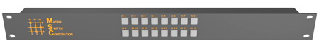 Matrix Switch MSC-CP16X1E 16x1 Elastomeric Remote Button Panel