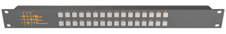 Matrix Switch MSC-CP32X1E 32x1 Elastomeric Remote Button Panel