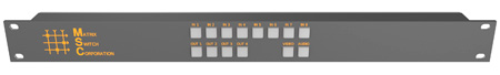 Matrix Switch MSC-CP8X4E 8x4 Elastomeric Remote Button Panel
