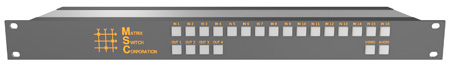 Matrix Switch MSC-HD164L 3G/HD/SD-SDI 16x4 Compact Routing Switcher -Button Ctrl